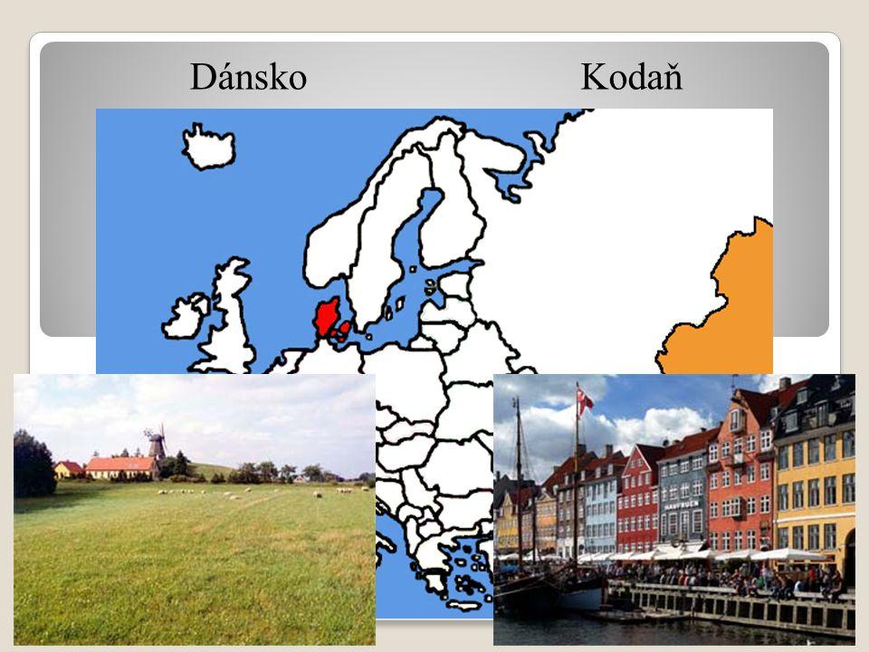 DánskoKodaň