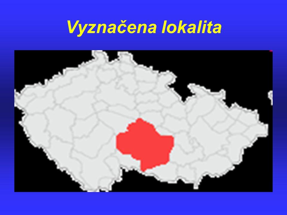 Vyznačena lokalita