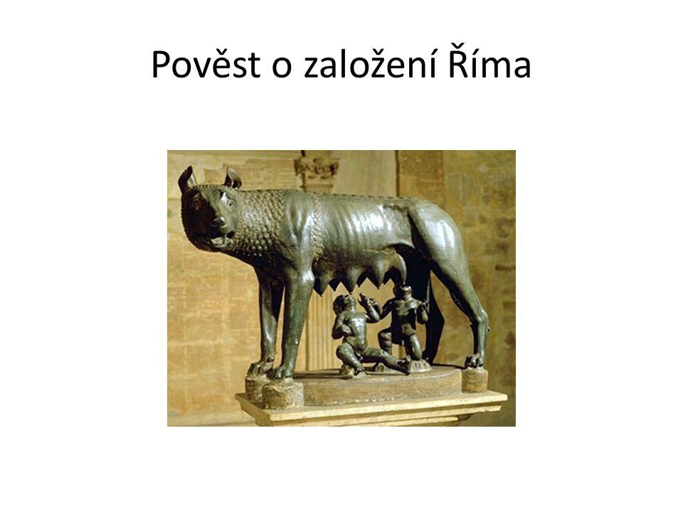 Pověst o založení Říma