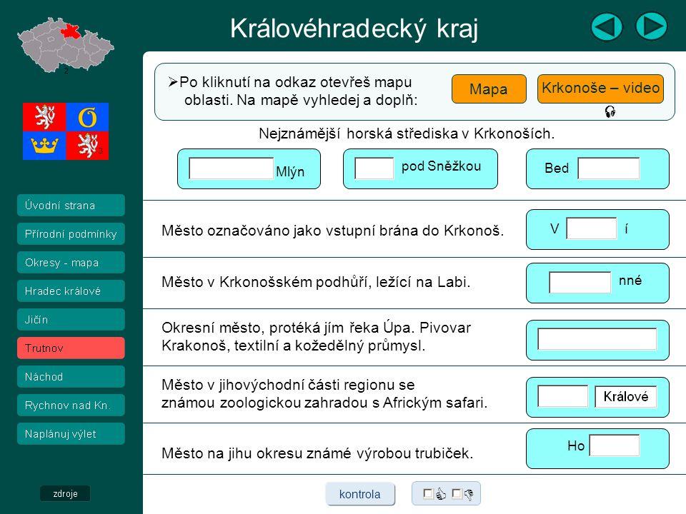 Královéhradecký kraj Kladské pomezí  Přečti text a zhlédni video o Kladském pomezí.