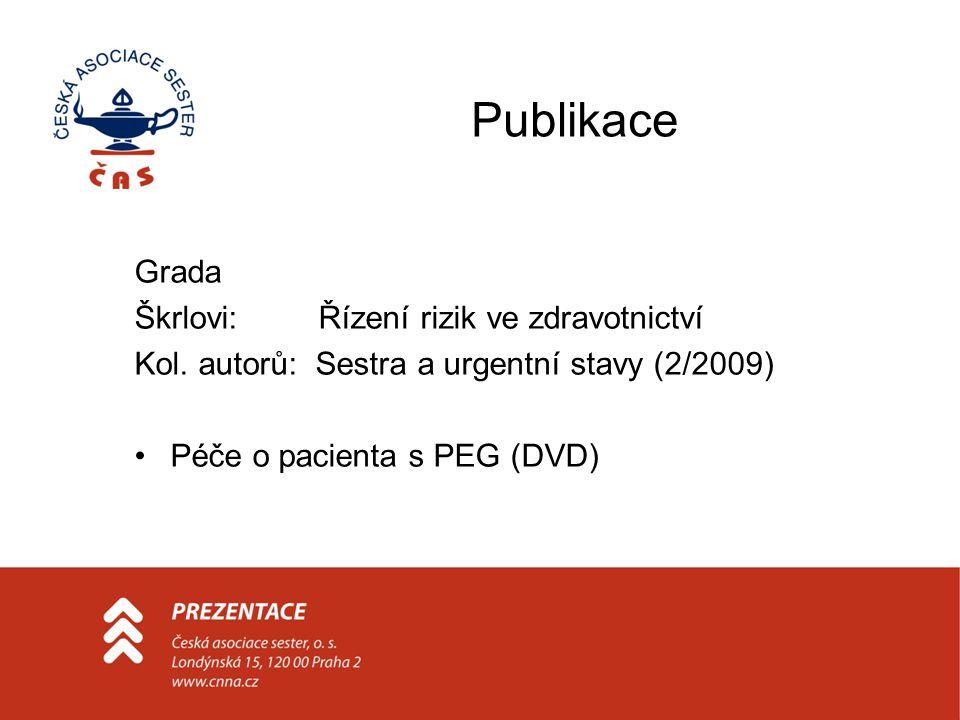 Publikace Grada Škrlovi: Řízení rizik ve zdravotnictví Kol.