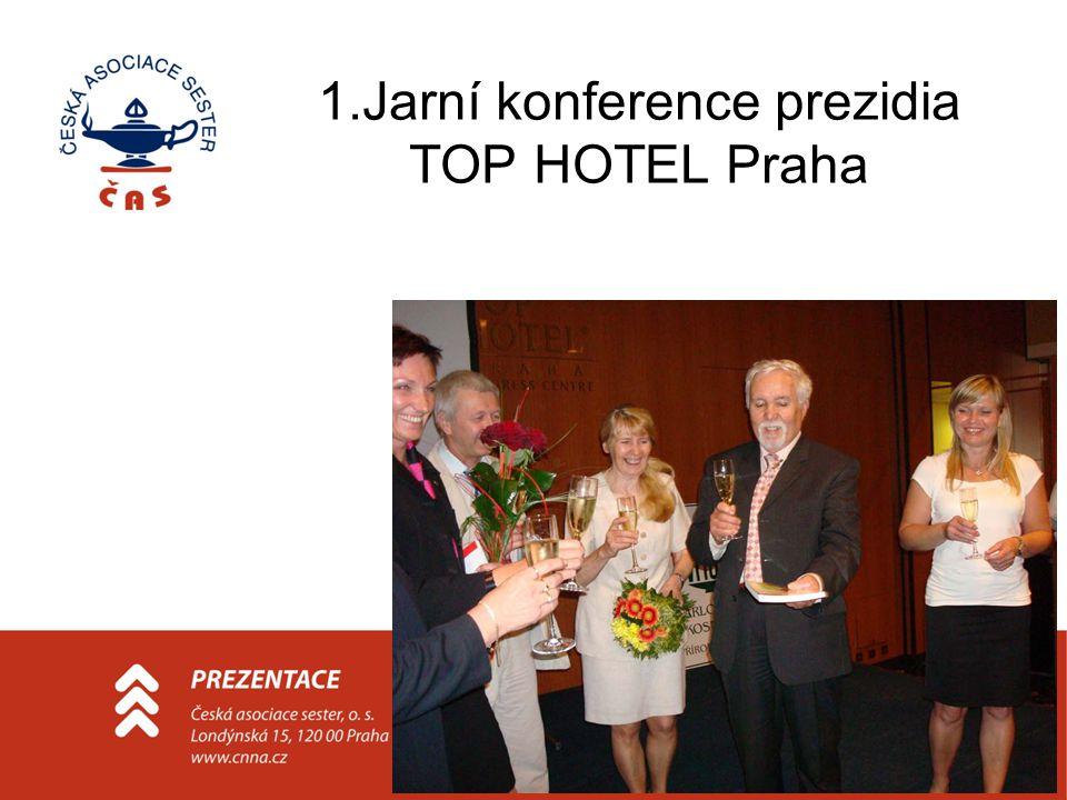 1.Jarní konference prezidia TOP HOTEL Praha