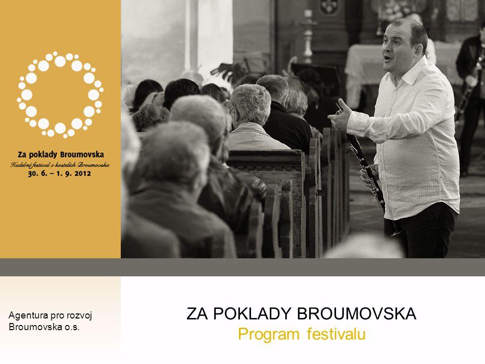 Předběžný program festivalového ročníku 2012 s jedinou výjimkou vždy v sobotu od 18:00 hodin Sobota 30.