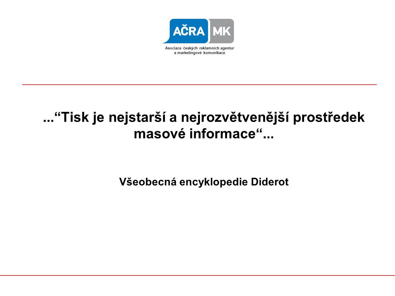 ... Tisk je nejstarší a nejrozvětvenější prostředek masové informace ...