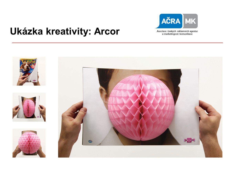 Ukázka kreativity: Arcor Asociace českých reklamních agentur a marketingové komunikace