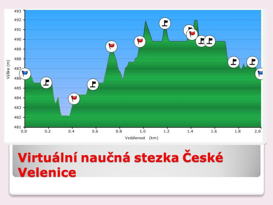 Virtuální naučná stezka České Velenice