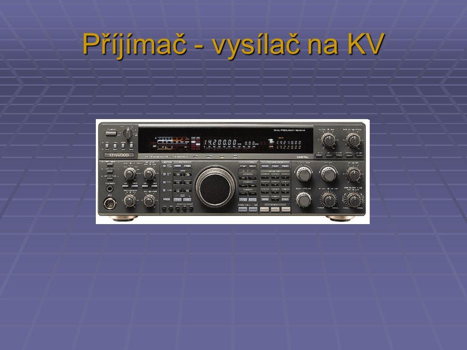 Příjímač - vysílač na KV