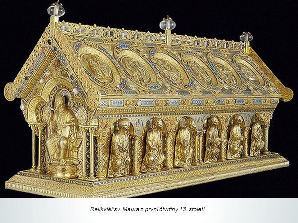 Relikviář sv. Maura z první čtvrtiny 13. století
