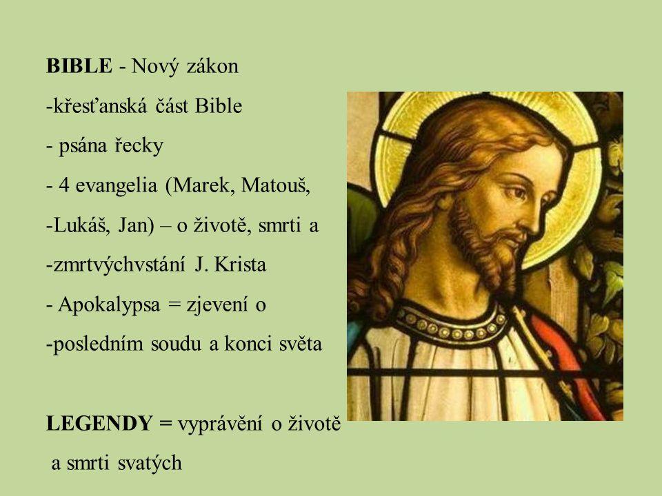 světská literatura – nenáboženská témata, psána v národních jazycích 1.