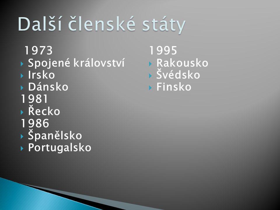  Estonsko  Lotyšsko  Litva  Polsko  Česká republika  Slovensko  Maďarsko  Slovinsko  Malta  řecká část Kypru