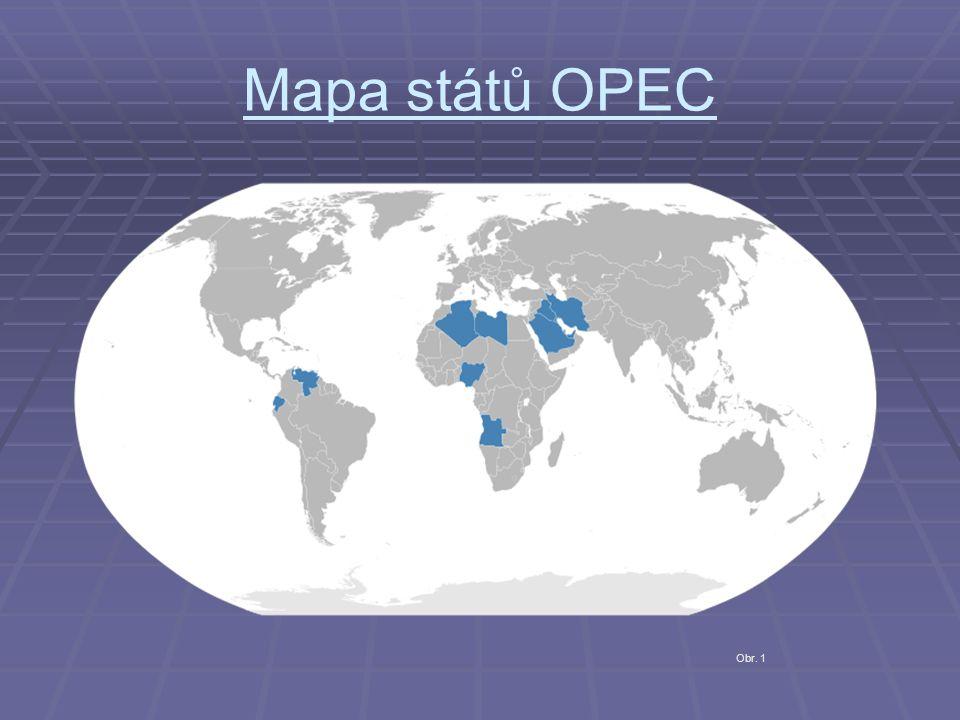 Demonstrace síly OPEC   Čas OPEC přišel 1973 při válce.