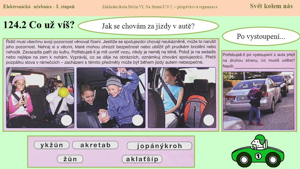124.3 Autosedačka Elektronická učebnice - I.