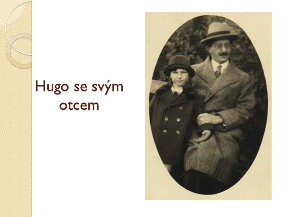 Hugo se svým otcem