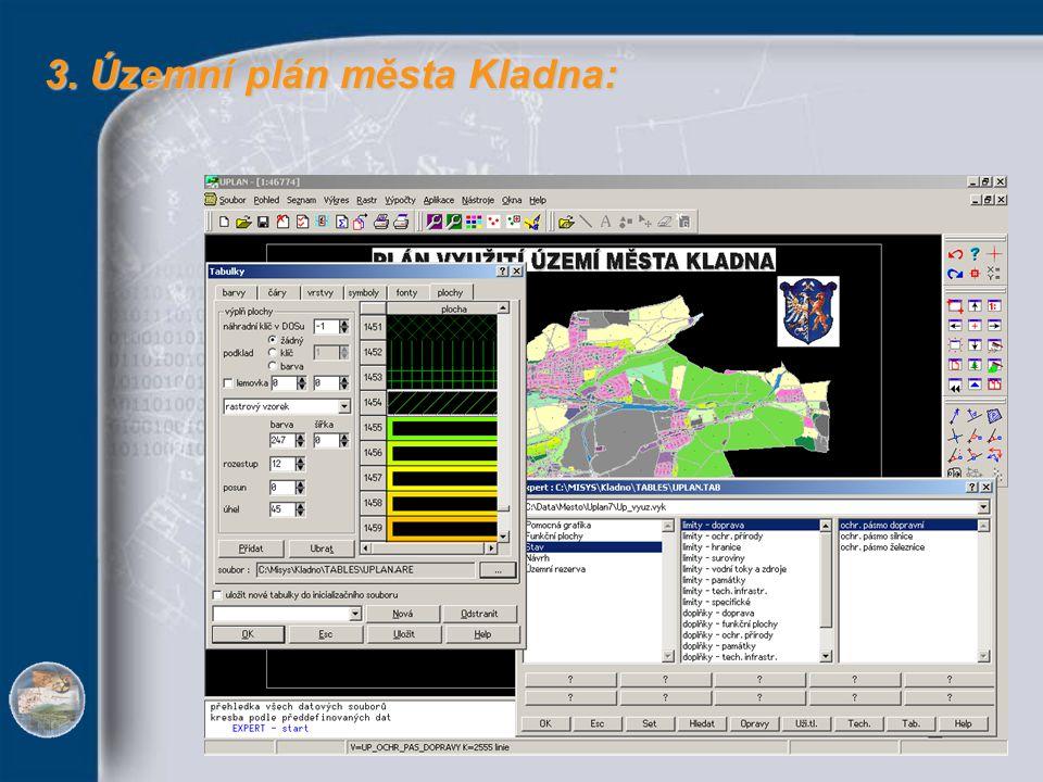 3. Územní plán města Kladna: 3. Územní plán města Kladna: