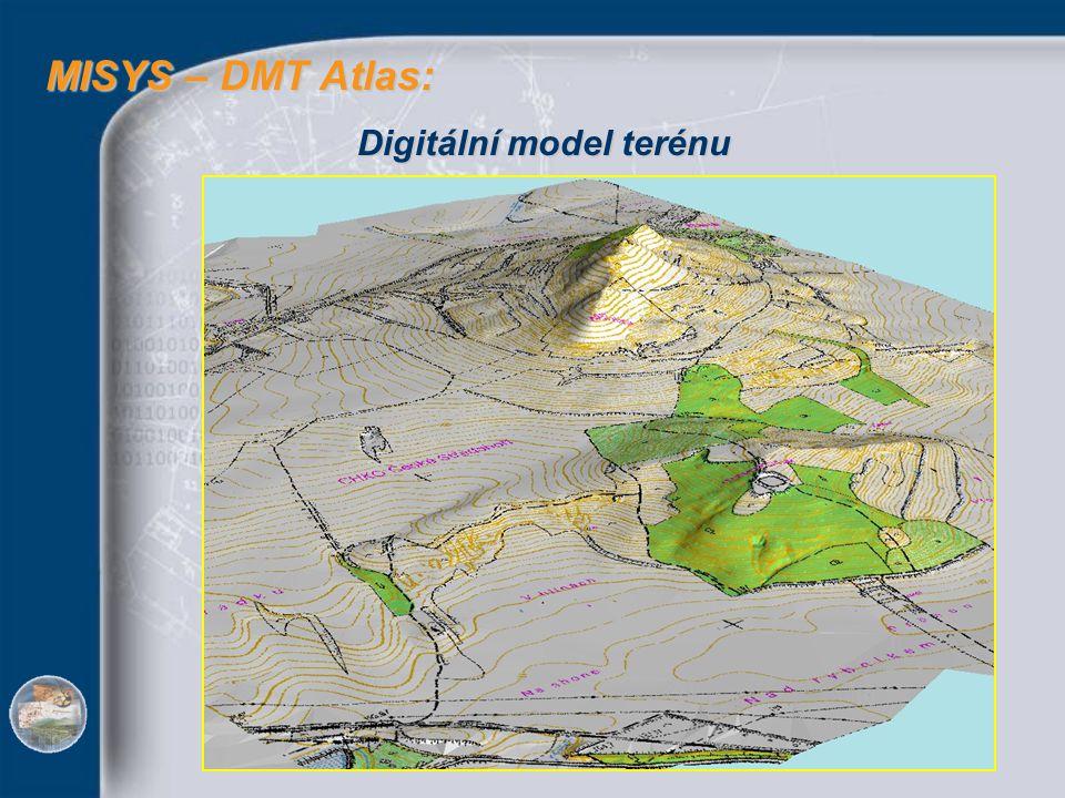 MISYS – DMT Atlas: MISYS – DMT Atlas: Digitální model terénu