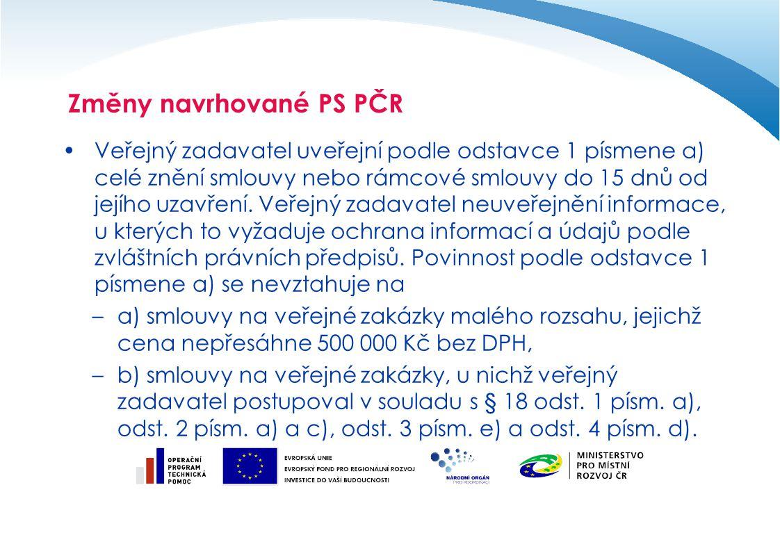 Veřejný zadavatel uveřejní podle odstavce 1 písmene a) celé znění smlouvy nebo rámcové smlouvy do 15 dnů od jejího uzavření. Veřejný zadavatel neuveře