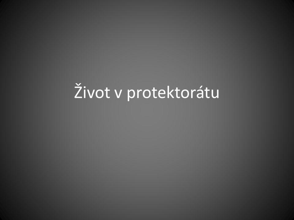 Život v protektorátu