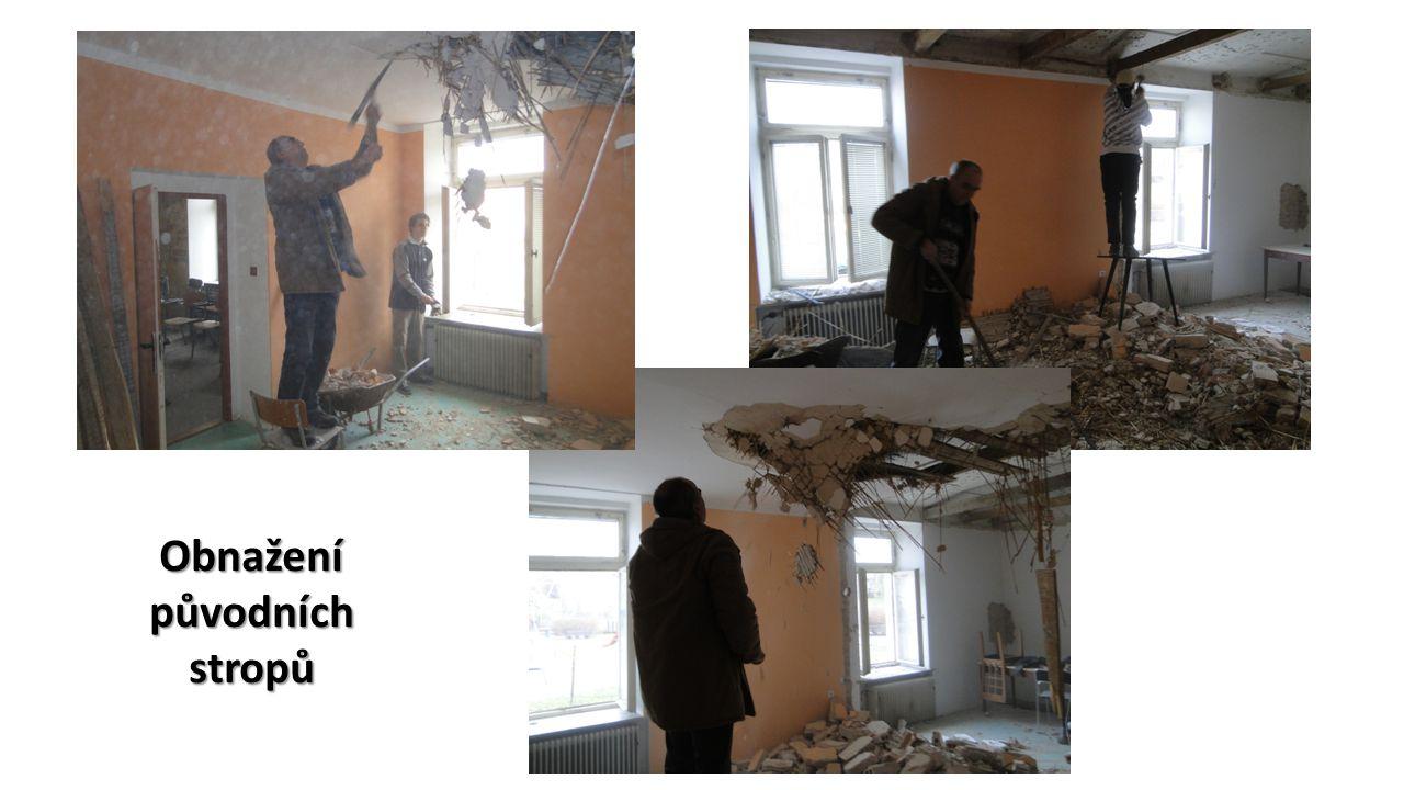 Obnažení původních stropů