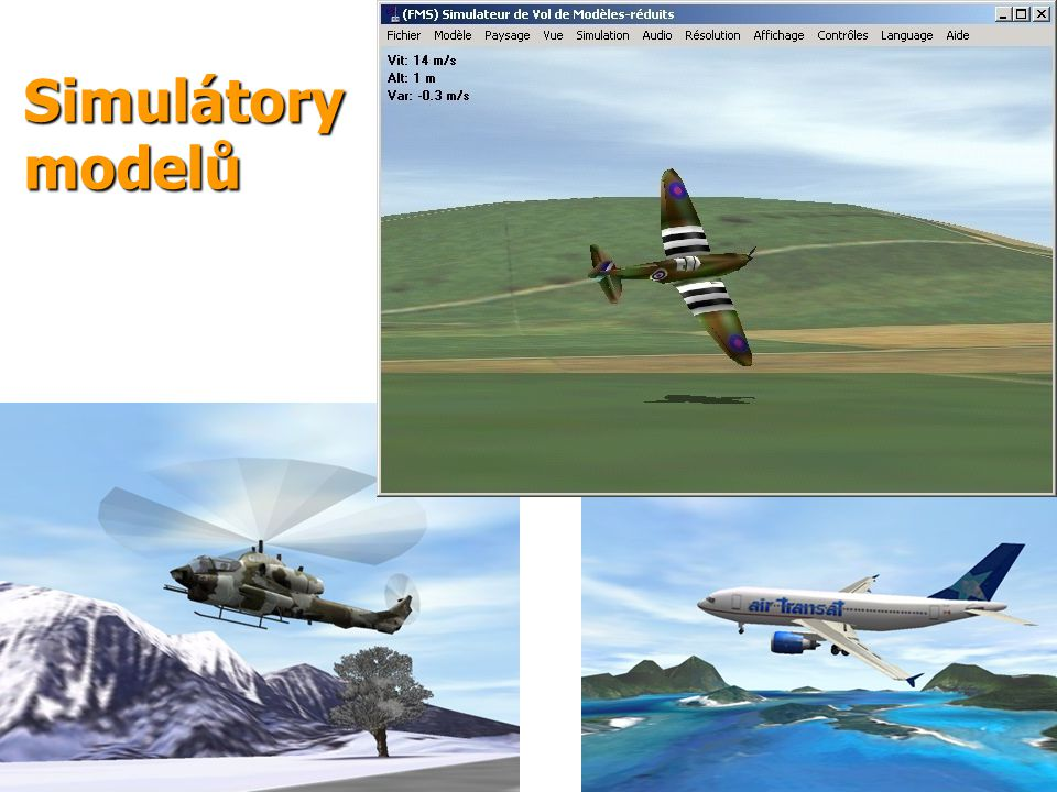 13 Simulátory modelů
