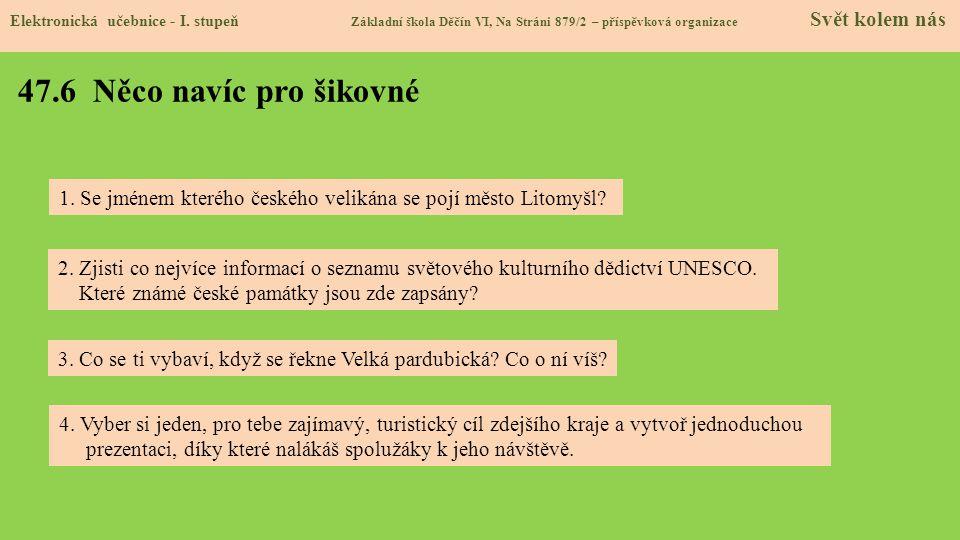 47.7 Region Elektronická učebnice - I.