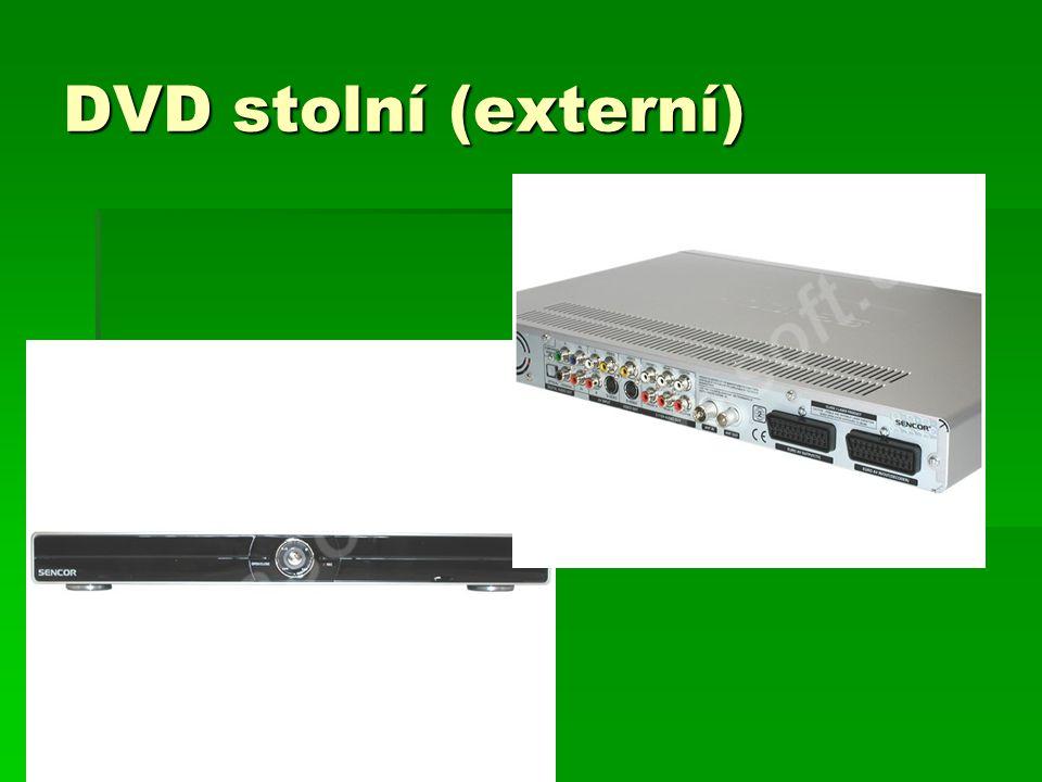 DVD stolní (externí)
