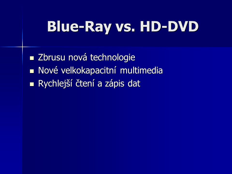 Blue-Ray vs.
