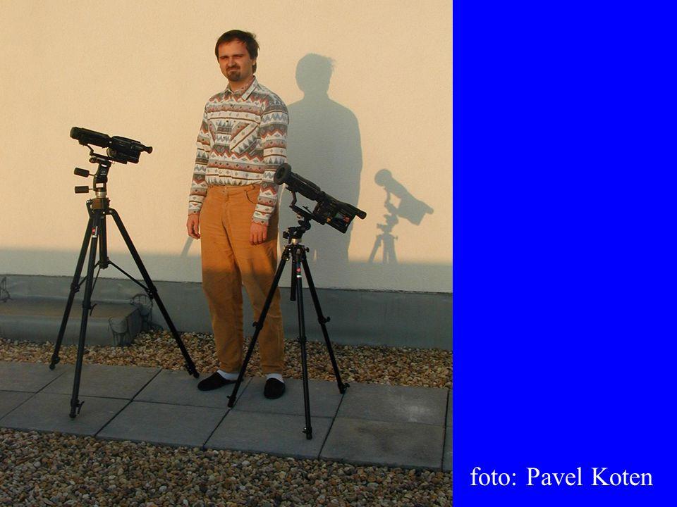 V roce 2001 již použita i širokoúhlá kamera.