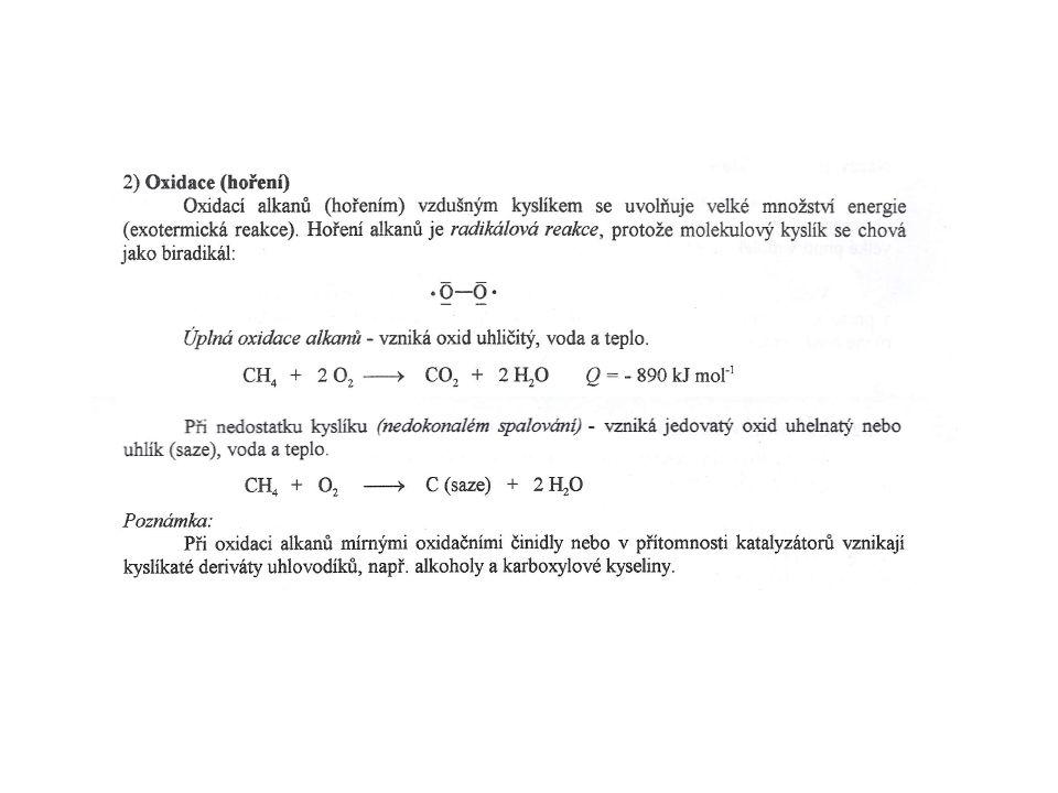 Vzorce Názvy Triviální názvy CH 3 Cl chlórmetan metylchlorid CH 2 Cl 2 dichlórmetan C 3 H 7 Cl chlórpropan propylchlorid CHCl 3 trichlórmetan chloroform CH 2 =CHCl chlóreten vinylchlorid