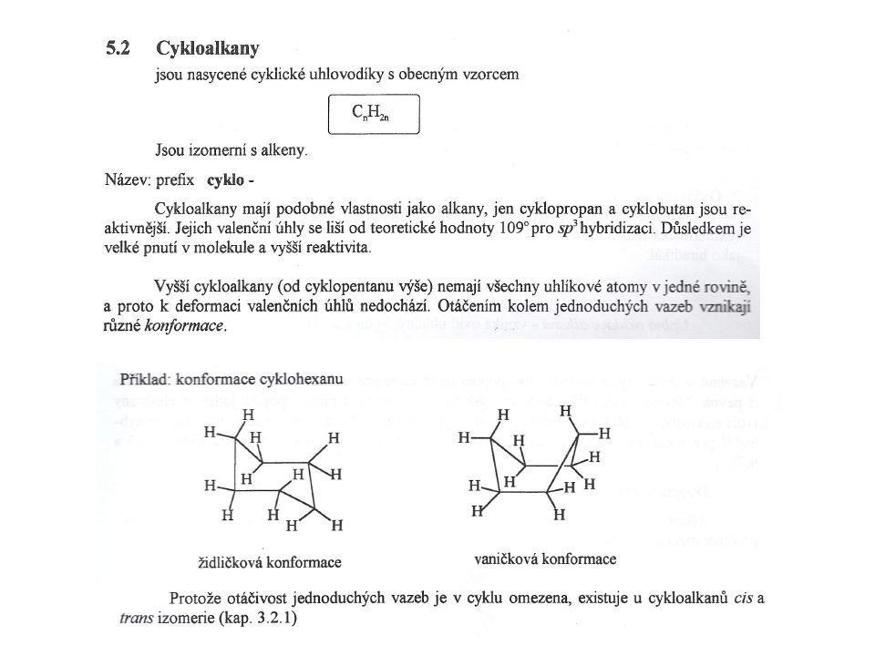 Výroba halogenderivátů a) substitucí alkanů a cykloalkanů b) adicí alkenů a cykloalkenů c) substitucí arenů d) adicí alkinů