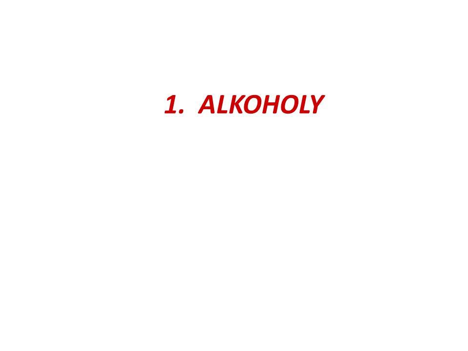 1. ALKOHOLY