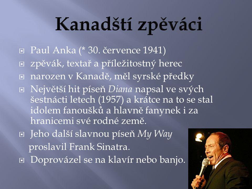  Paul Anka (* 30.