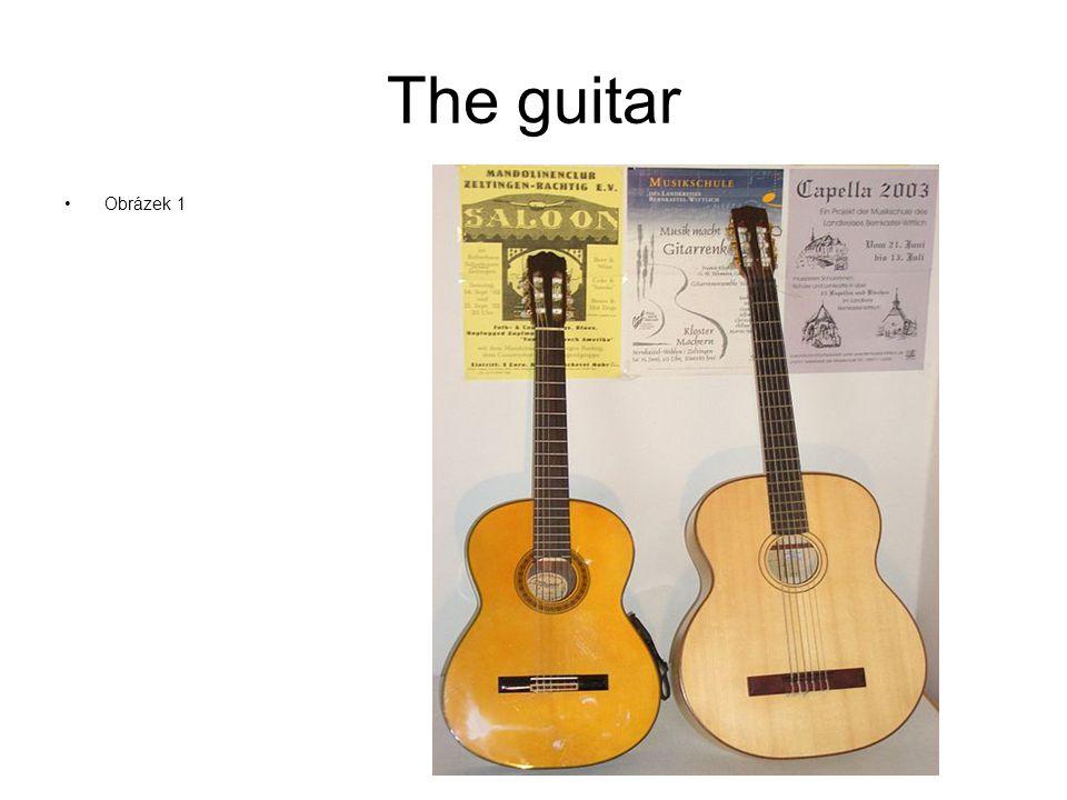 The guitar Obrázek 1