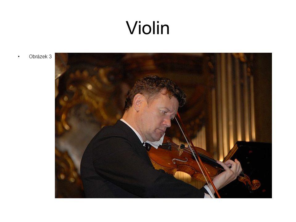 Violin Obrázek 3