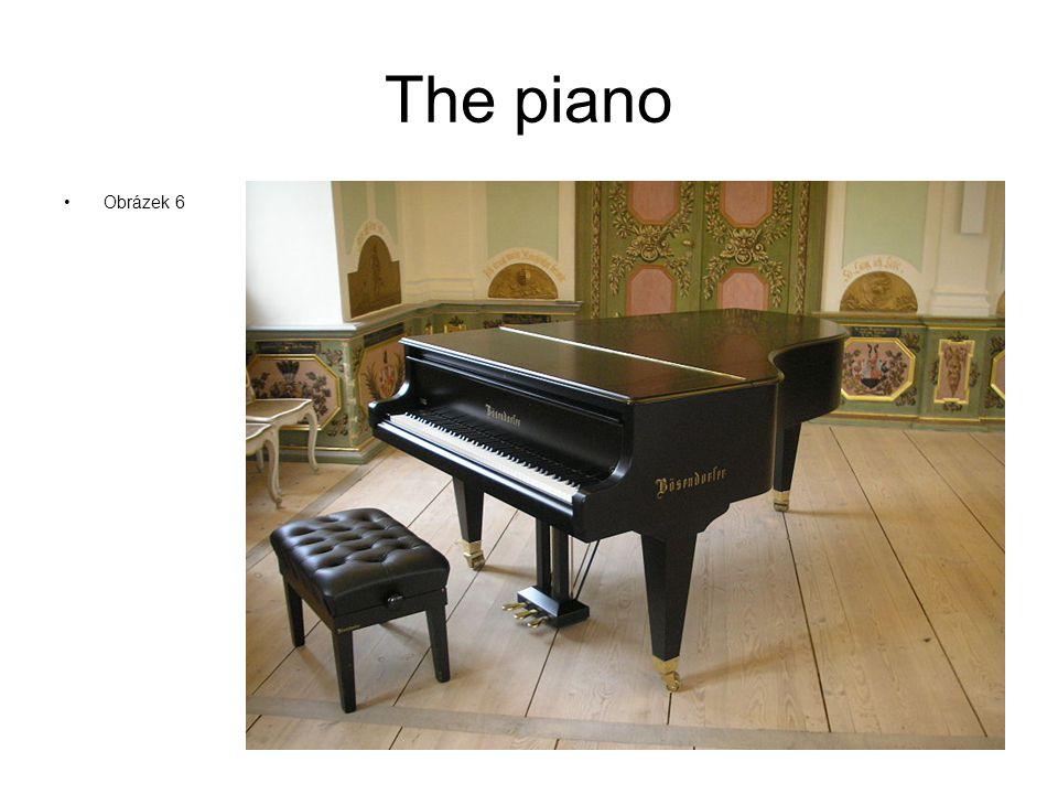 The piano Obrázek 6