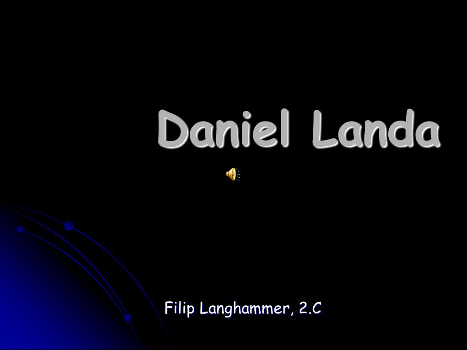 Daniel Landa Filip Langhammer, 2.C