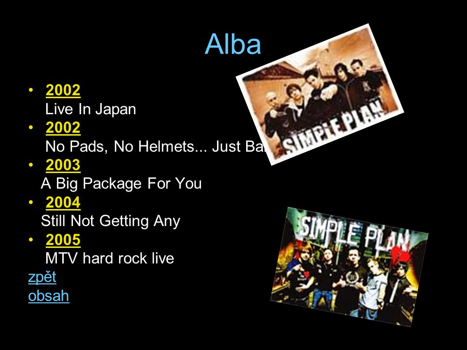 Alba 2002 Live In Japan 2002 No Pads, No Helmets...