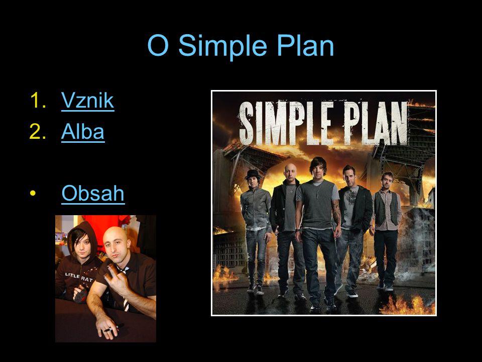 O Simple Plan 1.VznikVznik 2.AlbaAlba Obsah
