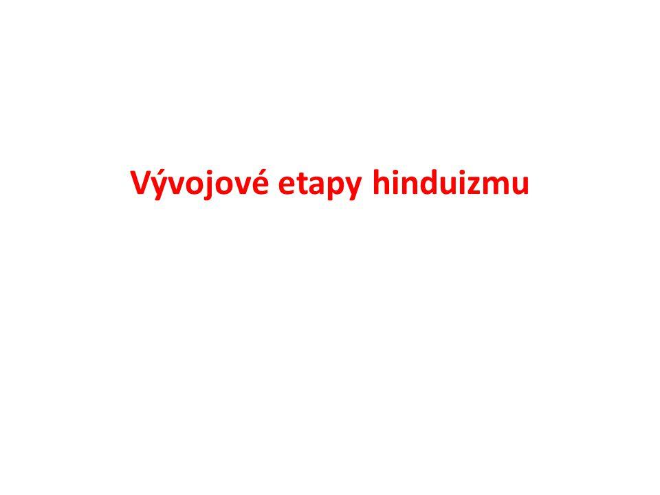 Vývojové etapy hinduizmu