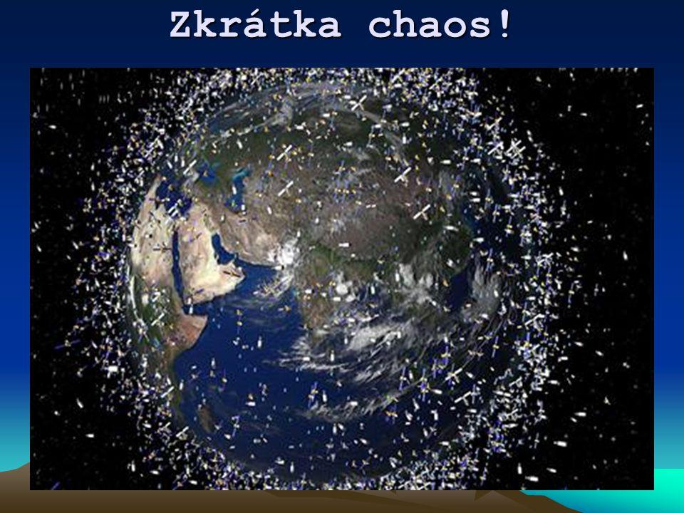 Krouží ale nefungují!! Kolem naší země nyní krouží okolo 3000 funkčních a 20 000 nefunkčních (mrtvých) družic či jejich úlomků. Národní úřad pro letec