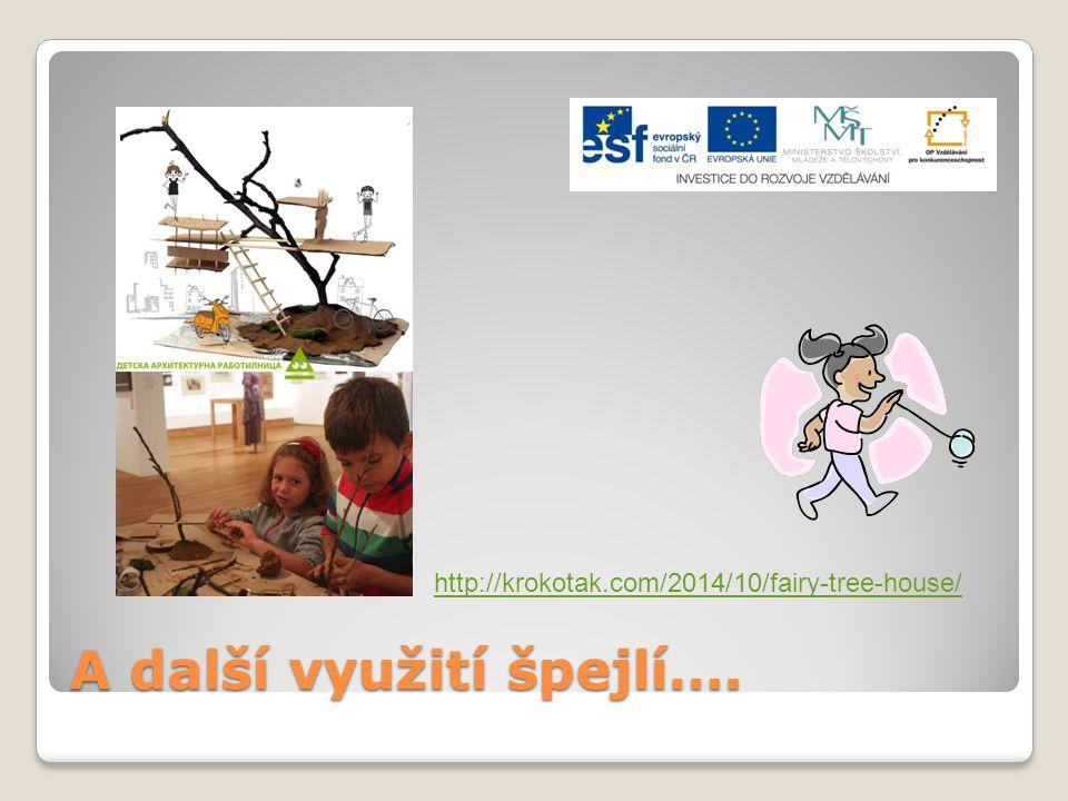A další využití špejlí…. http://krokotak.com/2014/10/fairy-tree-house/