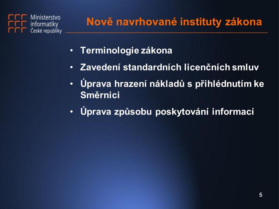 6 Rozsah zveřejňovaných informací Každý povinný subjekt musí pro informování veřejnosti ve svém sídle a svých úřadovnách zveřejnit na místě, které je všeobecně přístupné základní informace o svém úřadu Povinné subjekty jsou ve svém sídle povinny v úředních hodinách zpřístupnit - právní předpisy vydávané v rámci své působnosti, - seznamy hlavních dokumentů, zejména koncepční, strategické a programové povahy Povinné subjekty jsou povinny zveřejňovat tyto informace též způsobem umožňujícím dálkový přístup