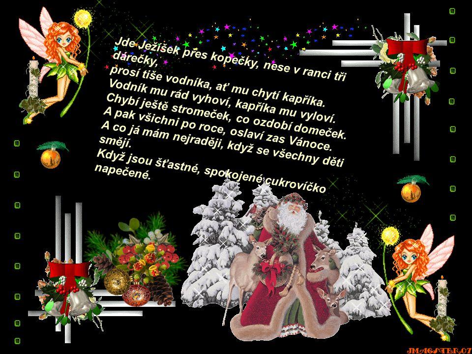 Ať s každou spadlou vločkou se rozhostí v srdci mír, ať s každým rampouchem se rozezvoní štěstí, ať vůně vánoc a jehličí Vám přinese do duše klid.