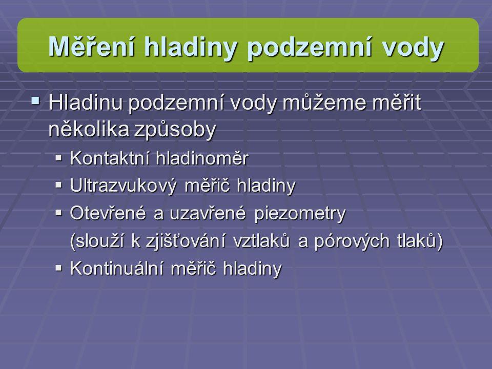 Vytvořený dataset Popis pole: Prumer_vyska – Hodinová průměrná výška podzemní vody.