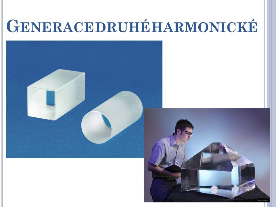 G ENERACE DRUHÉ HARMONICKÉ