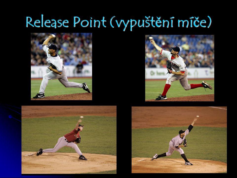Release Point (vypuštění míče)