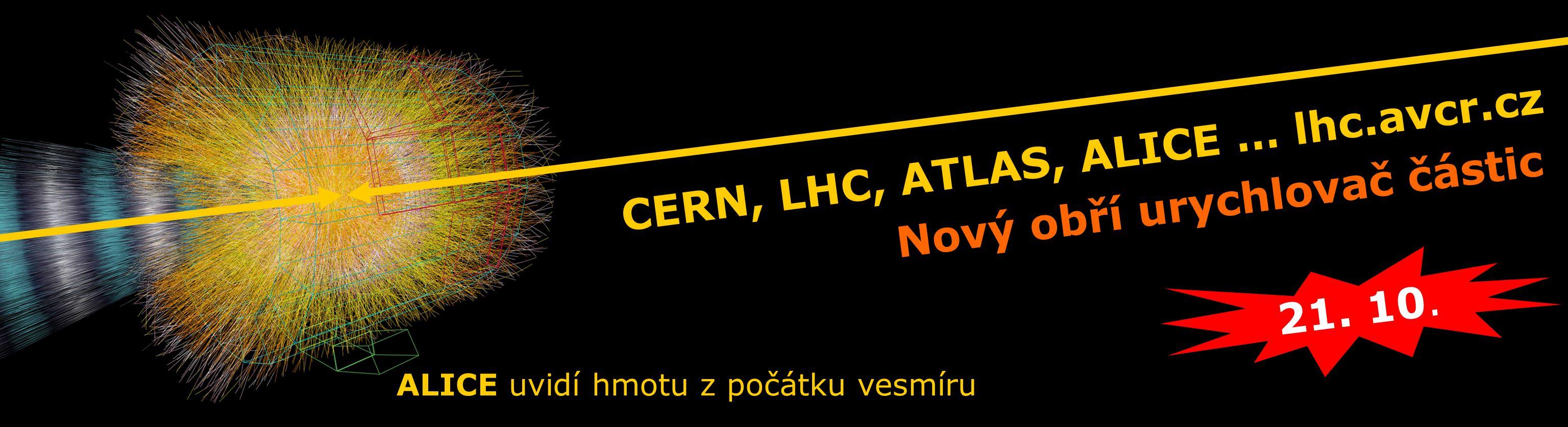 CERN, LHC, ATLAS, ALICE … lhc.avcr.cz 21. 10.