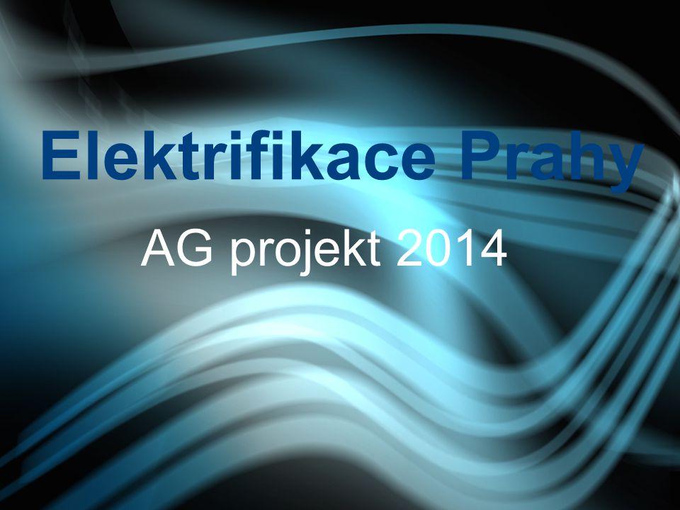 Elektrifikace Prahy AG projekt 2014