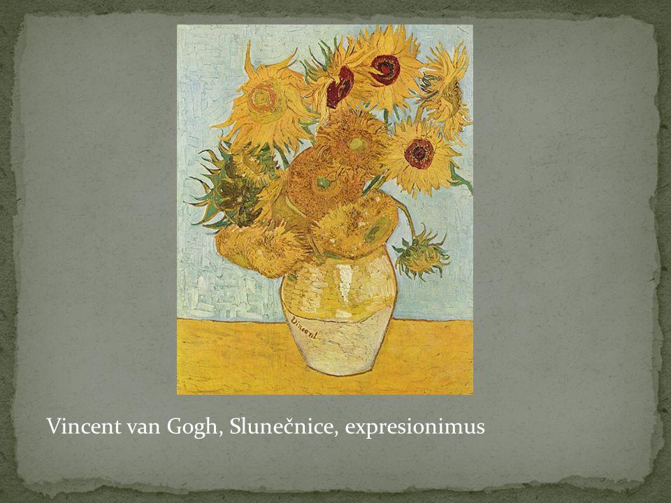 Vincent van Gogh, Slunečnice, expresionimus