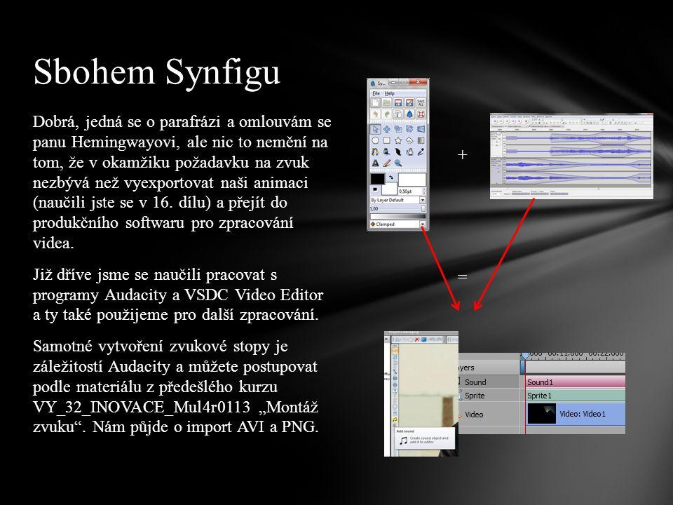 Jak nastavit parametry videa, které budeme vytvářet ve VSDC Video Editoru.