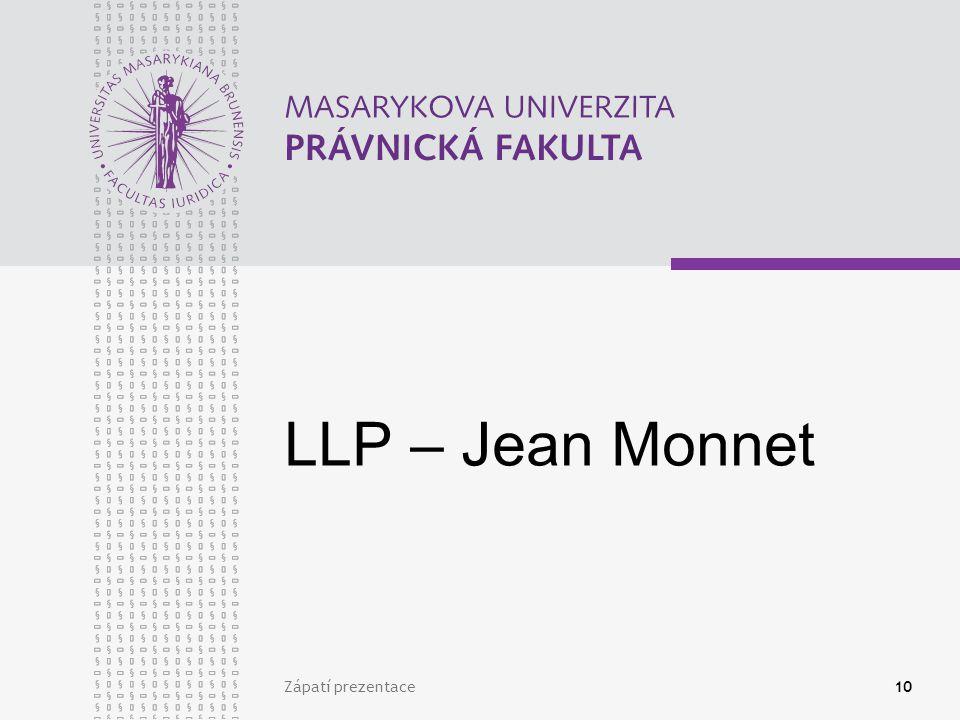 10 LLP – Jean Monnet